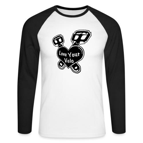 Love Your Velo Langarm-Shirt - Männer Baseballshirt langarm