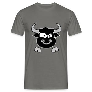 T-shirt BC Homme Tête Taureau, Bull, Force, Zodiaque - T-shirt Homme