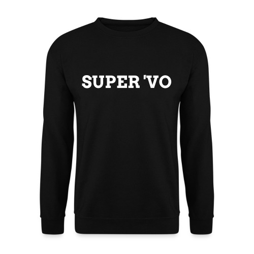 Super 'vo Zwart - Mannen sweater