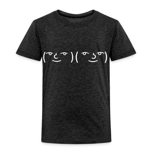 Menboobs T-shirt Grey/white - Kinderen Premium T-shirt