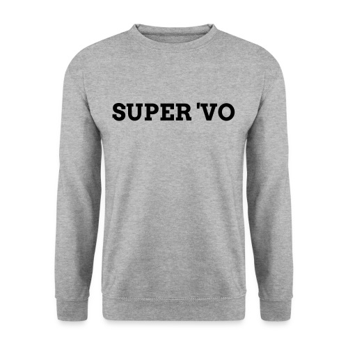 Super 'vo Grijs - Mannen sweater