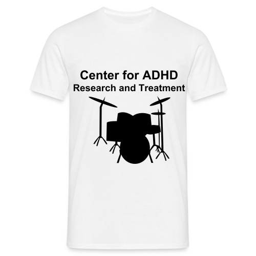 Center for ADHD research and treatment - T-skjorte for menn