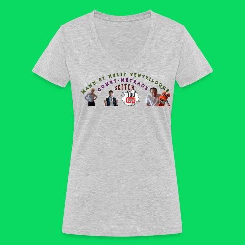 T-shirt bio col V Stanley & Stella Femme