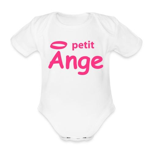 BODY PETIT ANGE - Body bébé bio manches courtes