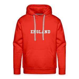 Mens Red Hooded Swaeshirt - Men's Premium Hoodie