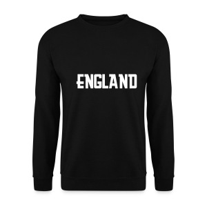 Mens Black England Sweatshirt - Men's Sweatshirt