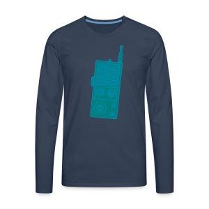 Funkgerät Walkie-Talkie 2 - Männer Premium Langarmshirt