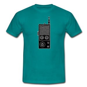 Funkgerät Walkie-Talkie 2 - Männer T-Shirt