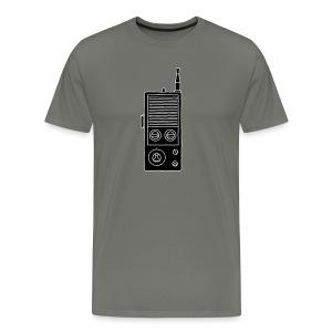 Funkgerät Walkie-Talkie 2 - Männer Premium T-Shirt