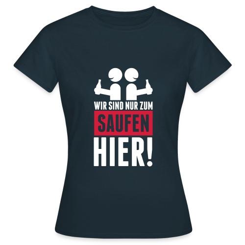 Österreich Edition saufen DAMEN - Frauen T-Shirt