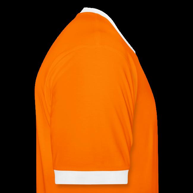 Voetbalkoning Contrastshirt met naam en rugnummer (wijzigbaar)