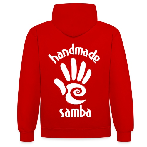 Handmade Samba Brizo - Contrast Colour Hoodie