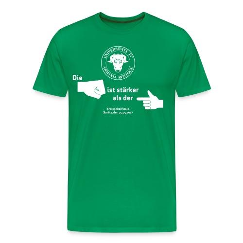 Grün Herren Pokal alles - Männer Premium T-Shirt