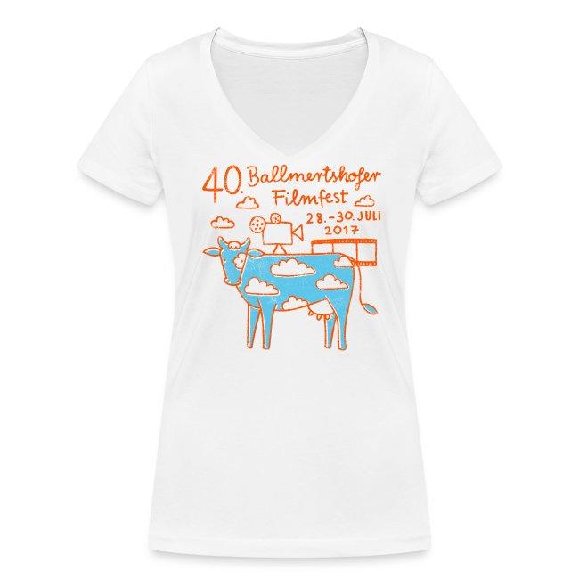 Frauen T-Shirt V-Ausschnitt, 2017