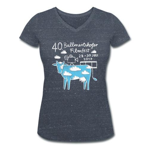 Frauen T-Shirt V-Ausschnitt, 2017 - Frauen Bio-T-Shirt mit V-Ausschnitt von Stanley & Stella