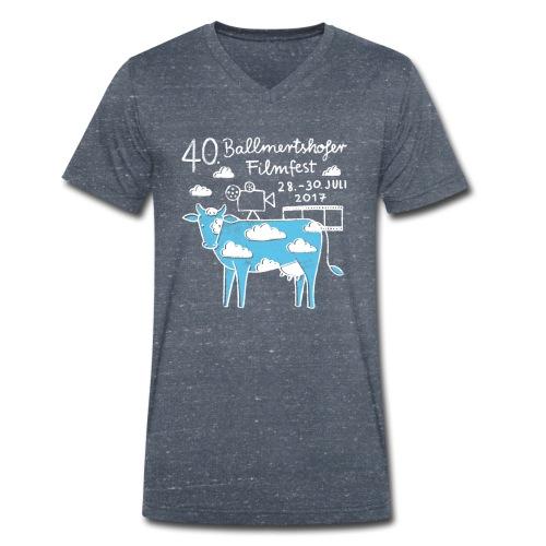 Männer T-Shirt V-Ausschnitt, 2017 - Männer Bio-T-Shirt mit V-Ausschnitt von Stanley & Stella