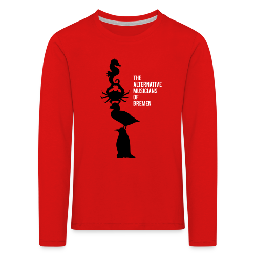 The alternative musicians of Bremen - Kinder Premium Langarmshirt