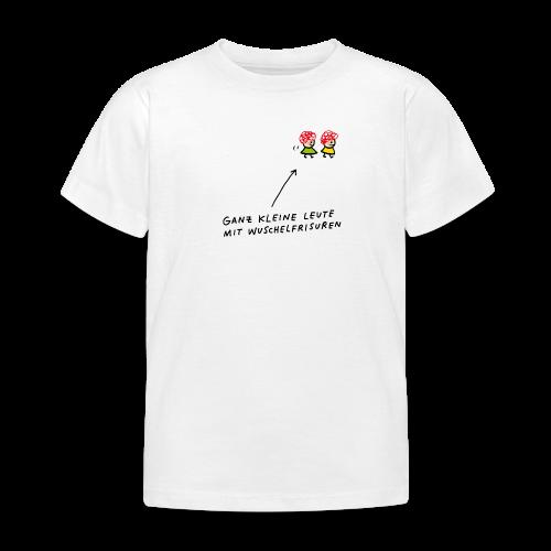 Ganz kleine Leute mit Wuschelfrisuren - Kinder T-Shirt