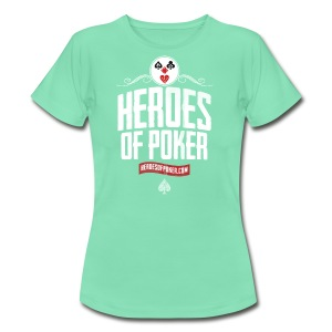 Heroes of Poker - Clown - Frauen T-Shirt
