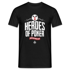 Heroes of Poker - Clown - Männer T-Shirt