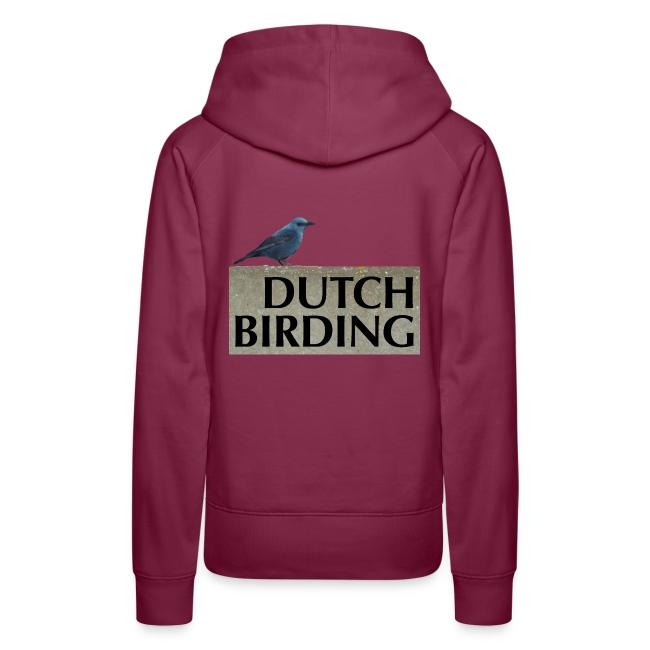 Blauwe Rotslijster - Vrouwen Premium hoodie
