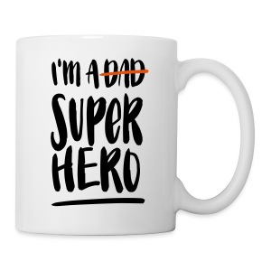 Dad-Superhero Tasse - Muki