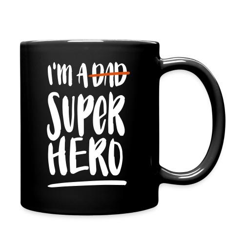 Dad-Superhero Tasse - Tasse einfarbig