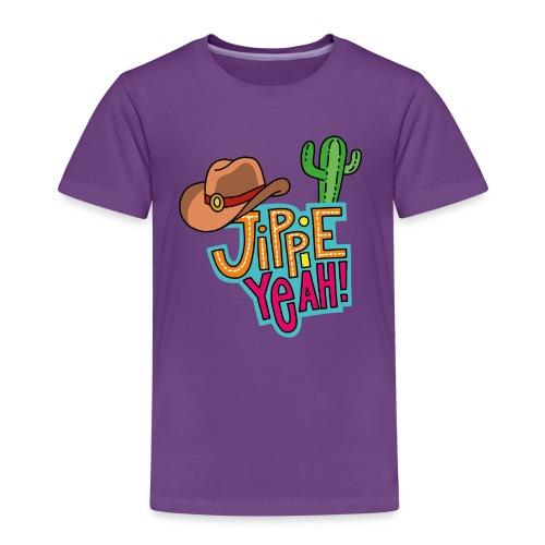 Jippieh Yeah T-Shirt für Kinder - Kinder Premium T-Shirt