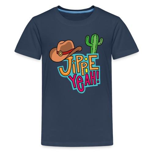 Jippieh Yeah T-Shirt für Teens - Teenager Premium T-Shirt