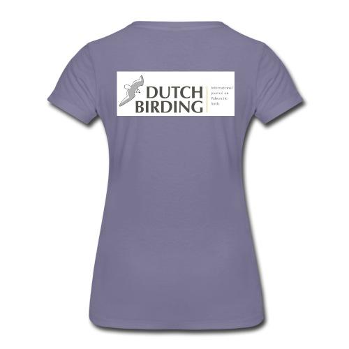Dutch Birding Premium T-shirt vrouw - Vrouwen Premium T-shirt