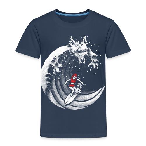 Little Red Surfing Hood - Kids' Premium T-Shirt