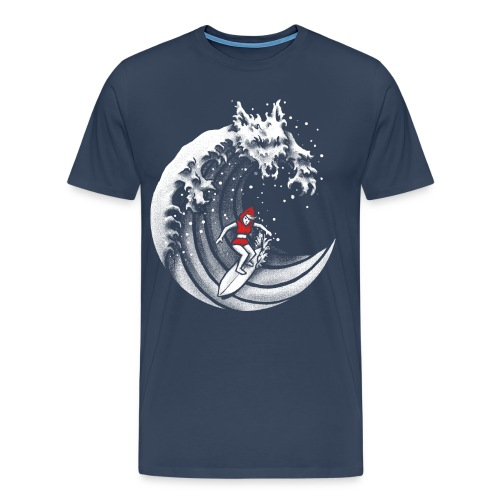 Little Red Surfing Hood - Men's Premium T-Shirt