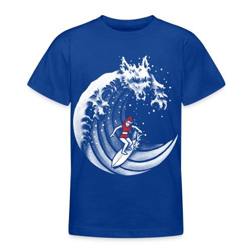 Little Red Surfing Hood - Teenage T-Shirt