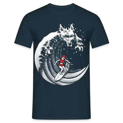 Little Red Surfing Hood - Men's T-Shirt