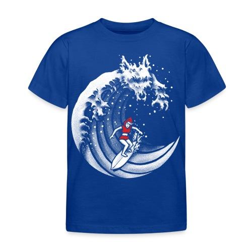 Little Red Surfing Hood - Kids' T-Shirt