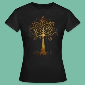 T-shirt femme basic Arbre phare doré - T-shirt Femme