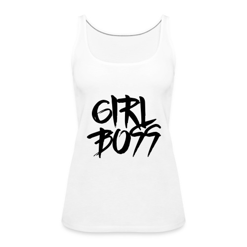 Girl Boss - Vrouwen Premium tank top