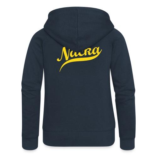 Nacka Zip Hood - Premium luvjacka dam