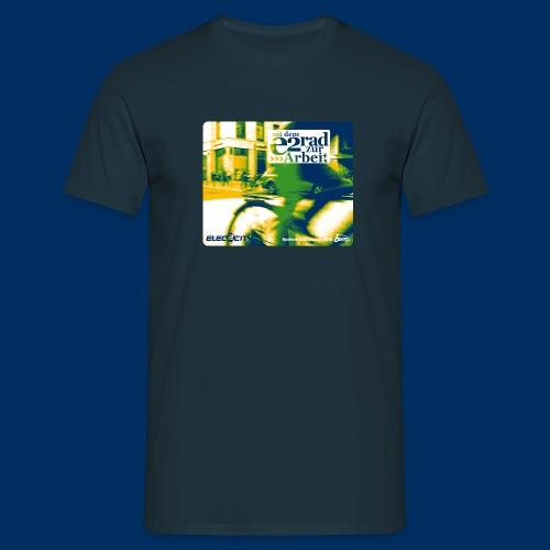 [elec2city] swoosh - Männer T-Shirt