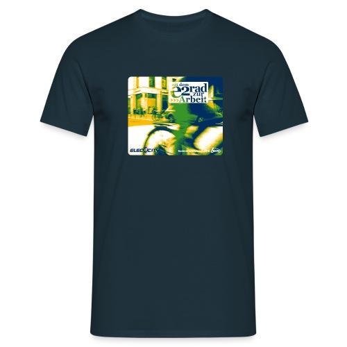 elec2city swoosh - Männer T-Shirt