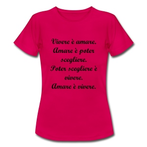 T-Shirt Donna Intelligent Phrases Three. - Maglietta da donna