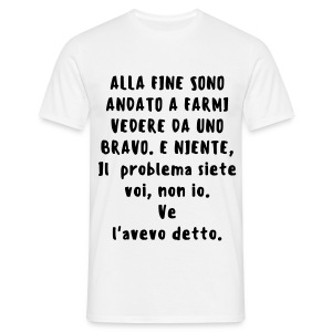 T-Shirt Uomo Intelligent Phrases Two. - Maglietta da uomo