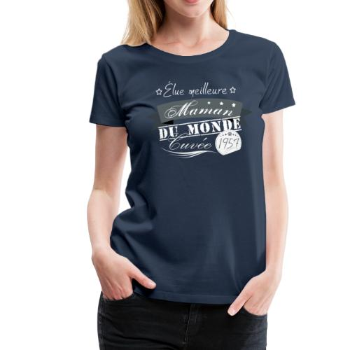 Meilleure Maman - T-shirt Premium Femme