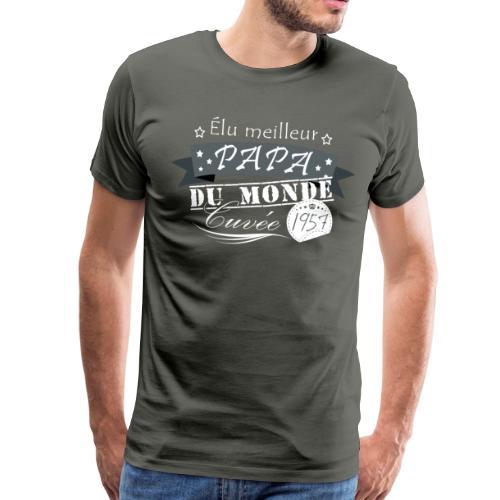 Meilleur Papa - T-shirt Premium Homme