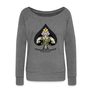 Heroes of Poker - Queen of Diamonds - Frauen Pullover mit U-Boot-Ausschnitt von Bella