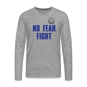 NO FEAR FIGHT - Männer Premium Langarmshirt