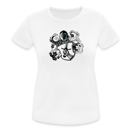 Stahlwappen - Damen-Trainingsshirt - Frauen T-Shirt atmungsaktiv
