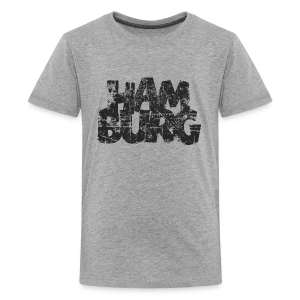Hamburg (Vintage Schwarz) Teenager T-Shirt - Teenager Premium T-Shirt
