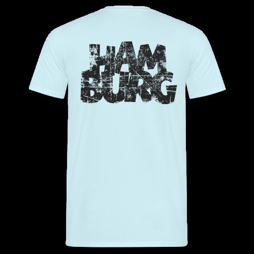 Hamburg (Vintage Schwarz) T-Shirt - Männer T-Shirt