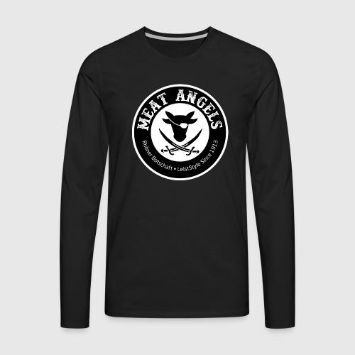 Herren Langarmshirt – Meat Angels - Männer Premium Langarmshirt